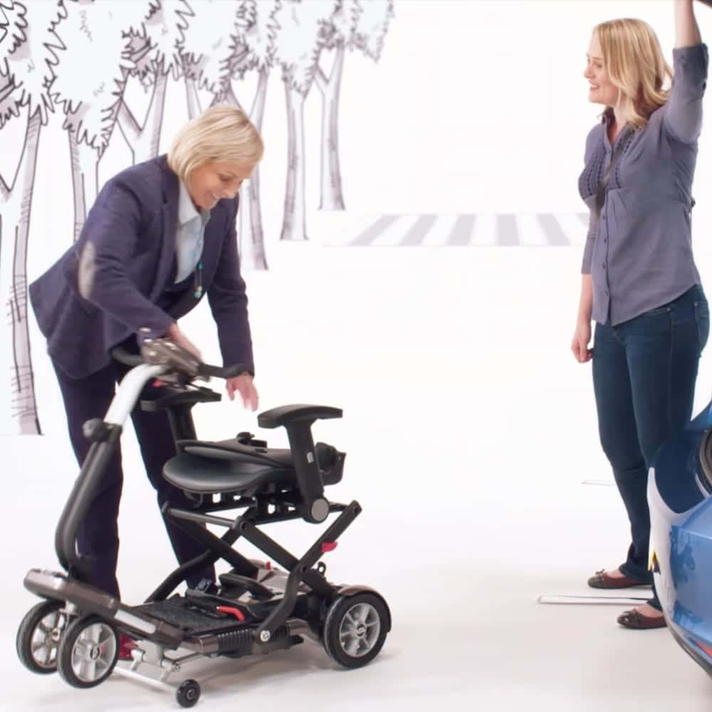 Screenshot from TGA Mobility TV advert