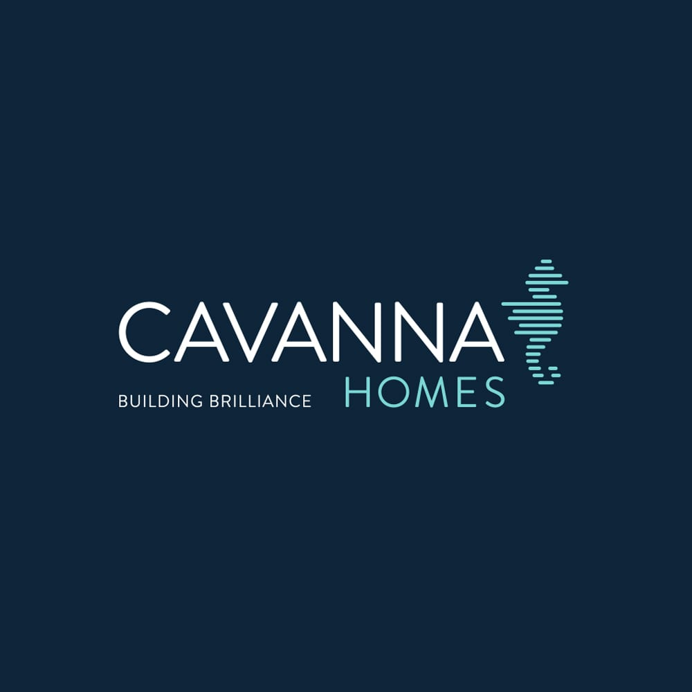 Cavanna Homes logo redesigned and refreshed