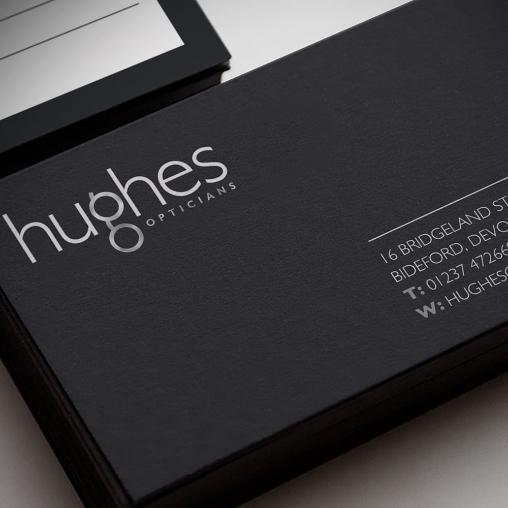 Hughes business cards